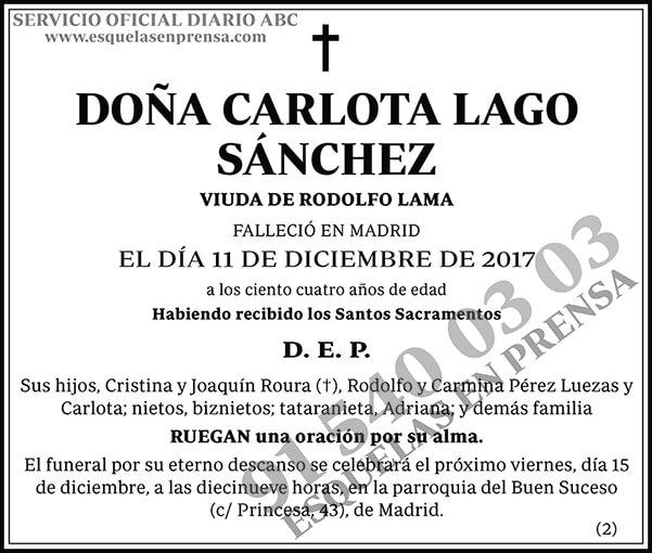 Carlota Lago Sánchez